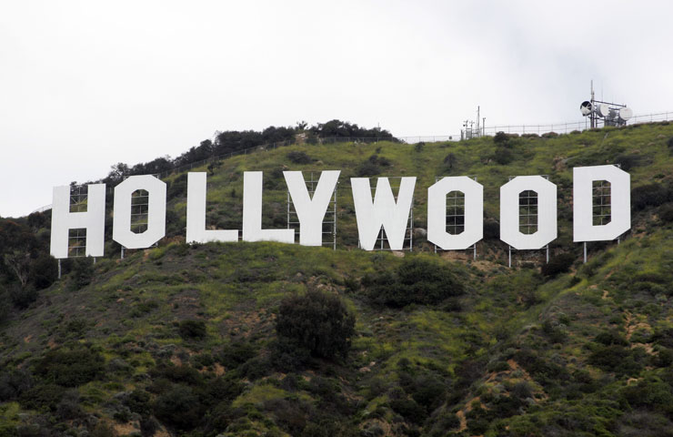 Hollywood sign, Los Angeles, USA