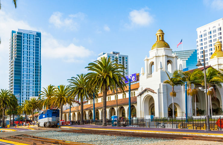 Union station, San Diego, USA